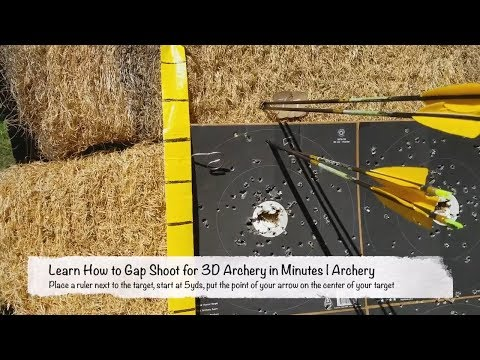 Learn How to Gap Shoot for 3D Archery in Minutes | Archery Gap Shooting