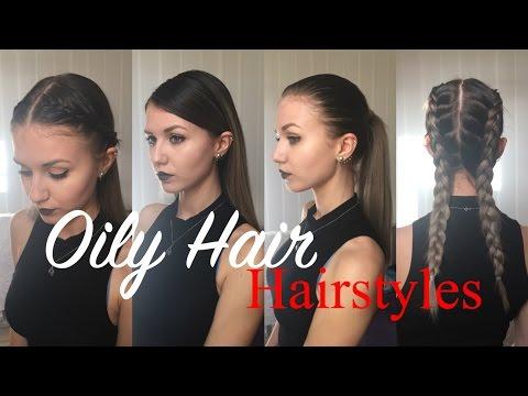 How to style Oily/ Greasy Hair | French Braid, Dutch Braid etc | Stella