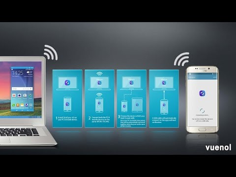 How to share your mobile screen and control by desktop fully