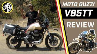 Moto Guzzi V85TT Travel MotoGeo Review