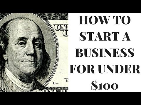 How To Start A Business For Under 100 In 5 Minutes
