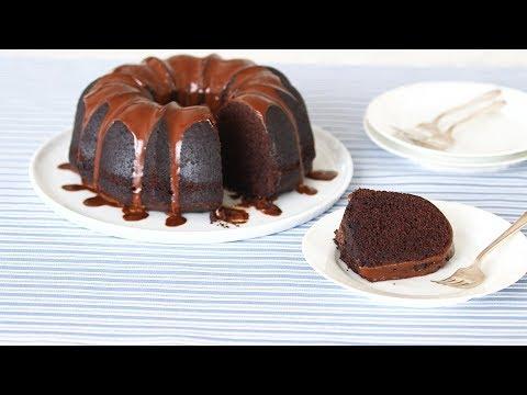 Glazed Chocolate Bundt Cake - Sweet Talk with Lindsay Strand