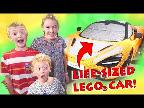 Our Biggest LEGO Build!