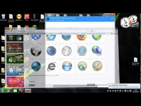 How to change your icon image without any software ! HD