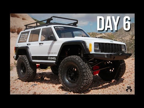 Axial SCX10 II Kit Build - Day 6 - Assembling the Chassis!