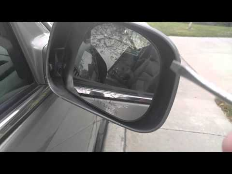 DIY -- Access the inside of the 2006 Toyota Camry Sideview Mirror **NO REPLACEMENT**