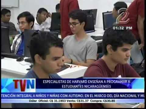 Estudiantes aprenden a programar con metodología de Harvard TV Noticias canal 2