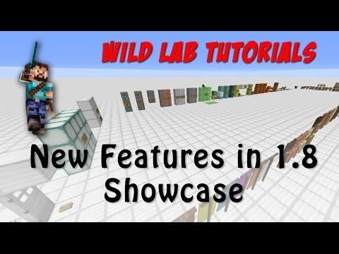 Minecraft update 1.7 to 1.8 New features showcase a look at changes [Tutorial]