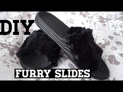 DIY: Furry Slides