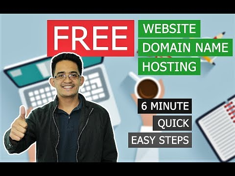CREATE your WEBSITE with FREE DOMAIN NAME and HOSTING