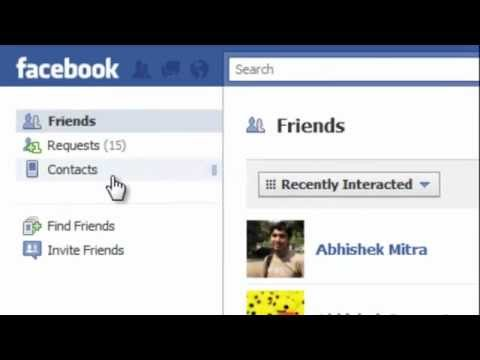 Find Friends' Mobile Numbers on Facebook + Hiding Your Contact Information Privacy   YouTube