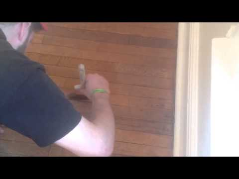 How to refinish your hardwood floors without sanding part 4