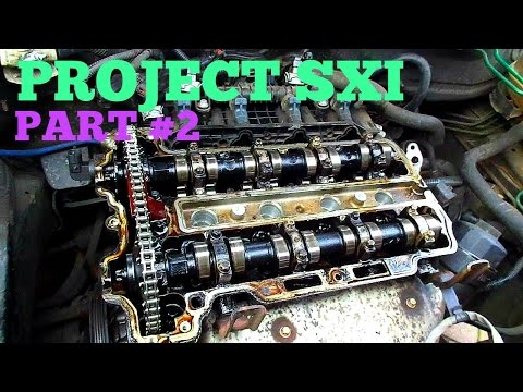 PROJECT SXI - Part #2 (Taking apart the engine!)