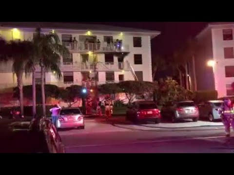 Fire at Whitehall Apartments