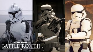 Star Wars Battlefront 2 - ALL OUTFITS (Clones/Rebels/Droids/Empire/Resistance/First Order)