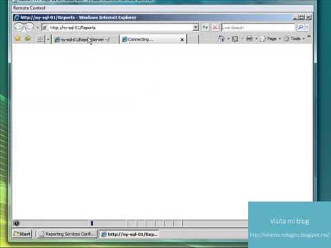 Cómo instalar y configurar Reporting Services