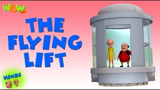 The Flying Lift - Motu Patlu in Hindi - 3D Animation Cartoon for Kids -As on Nickelodeon