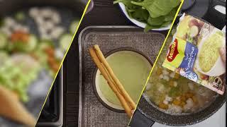 وصفات سهلة لشوربات رمضان من ماجي