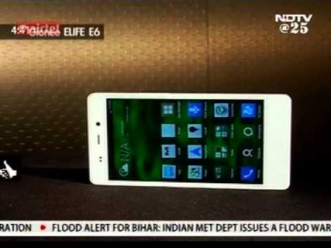 Gionee Elife E6 Launch review by NDTV 24x7