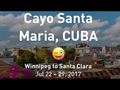 Going to Cuba • Cayo Santa Maria • Valentin Perla Blanca 🇨🇦