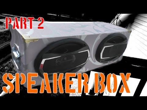 Dual 6x9 speaker box | Part 2 | The Workshop