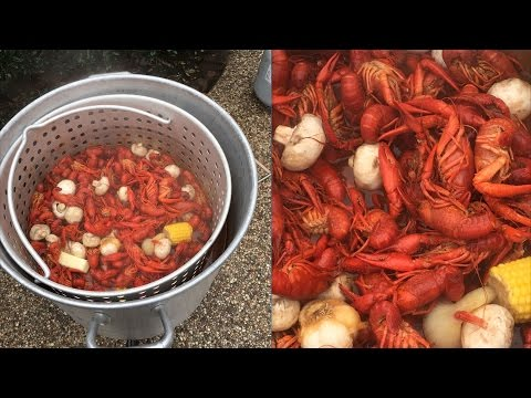 How to boil Crawfish! A much shorter video with important changes.