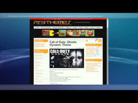 How to install themes gratis from the ps3 for ps3 | ITA-ENG