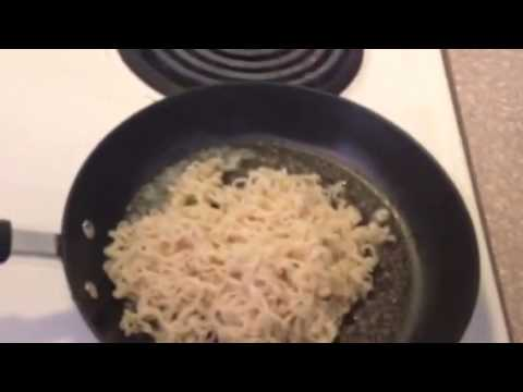 Pan Fried Ramen Noodles | Cooking With Nuckuh