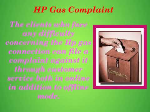 HP Gas Connection Process