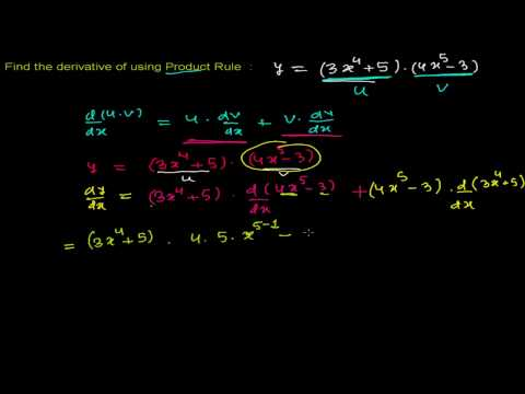How to Find Derivative of Function Using Power Rule 2