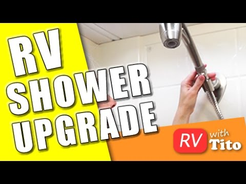 How To Get More Water Pressure In Your RV Shower - Oxygenics Shower Install