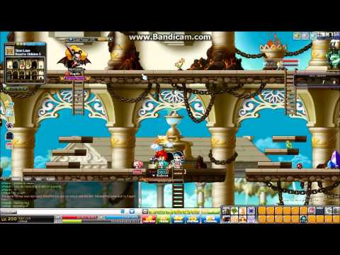 Maplestory how a teleport hack looks like