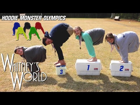 Hoodie Monster Olympics | Whitney Bjerken