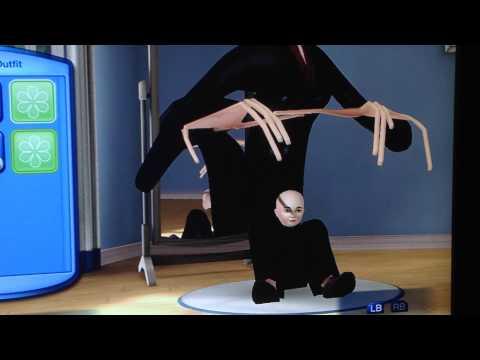 Sims 3 XBOX 360 Glitch