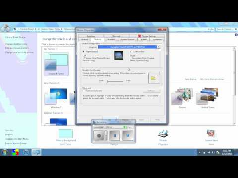 Change Windows 7 Mouse Pointer and Double Click Speed.wmv
