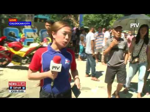 NEWS BREAK: Halalan sa Bagong Silang Caloocan, nananatiling maayos