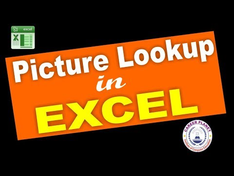Picture Lookup in Excel| Microsoft Office Excel Training| Index and Match Formula in Excel