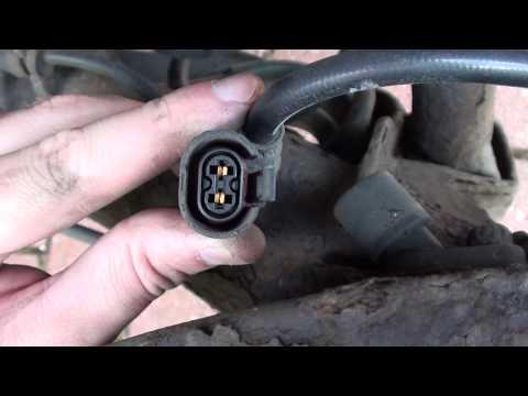 VW Golf Mk4 Rear ABS Sensor Location Video