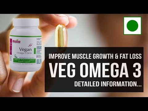 RESTART STOPPED MUSCLE GROWTH WITH VEGETARIAN OMEGA 3 SUPPLEMENT