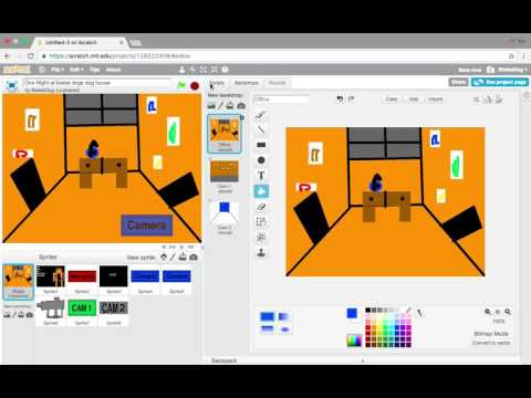 How to make an Fnaf fan game on Scratch. Part 3