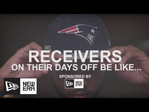 Receivers on their off days be like… | New Era Cap