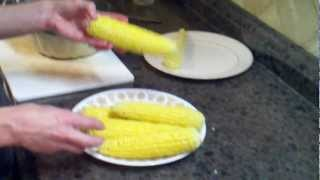 Freezing Sweet Corn For Winter
