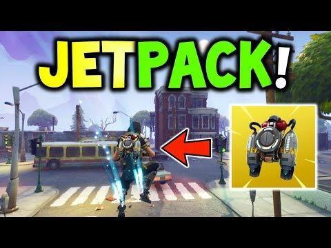 FORTNITE Battle Royale NEW                *JETPACK* GAMEPLAY! (Concepts) - New JETPACK Legendary!
