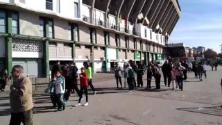 Ambiente en la previa del Betis-Leganés