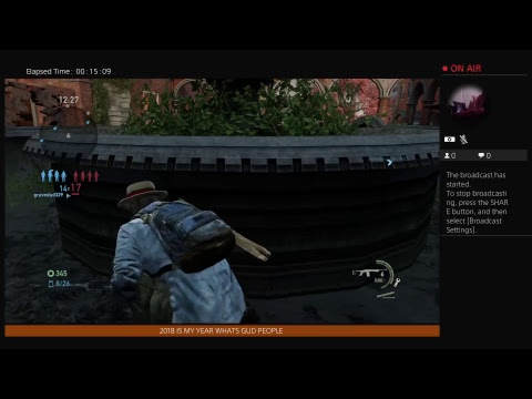 J_KILL_SEAL's Live PS4 Broadcast