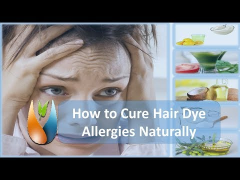 How to Cure Hair Dye Allergies Naturally