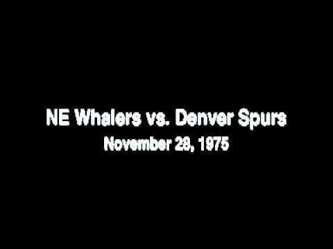 Audio: New England Whalers vs. Denver Spurs WHA