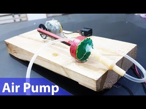 How to make High Power Mini Air Pump at home For Aquarium