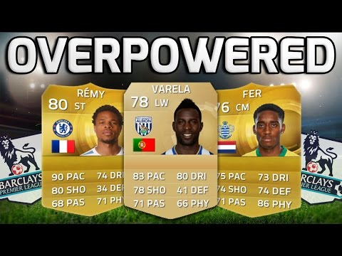 FIFA 15 - THE MOST OVERPOWERED BPL TEAM!!! - Fifa 15 BPL Squad Builder