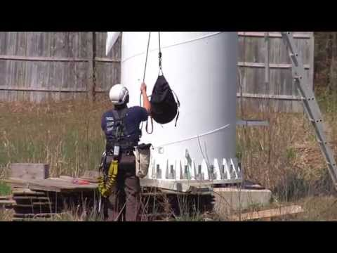 Wind Turbine Annual Maintenance at the Green Leaf Inn